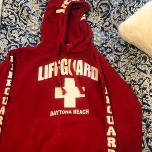 Cozy life guard sweatshirt